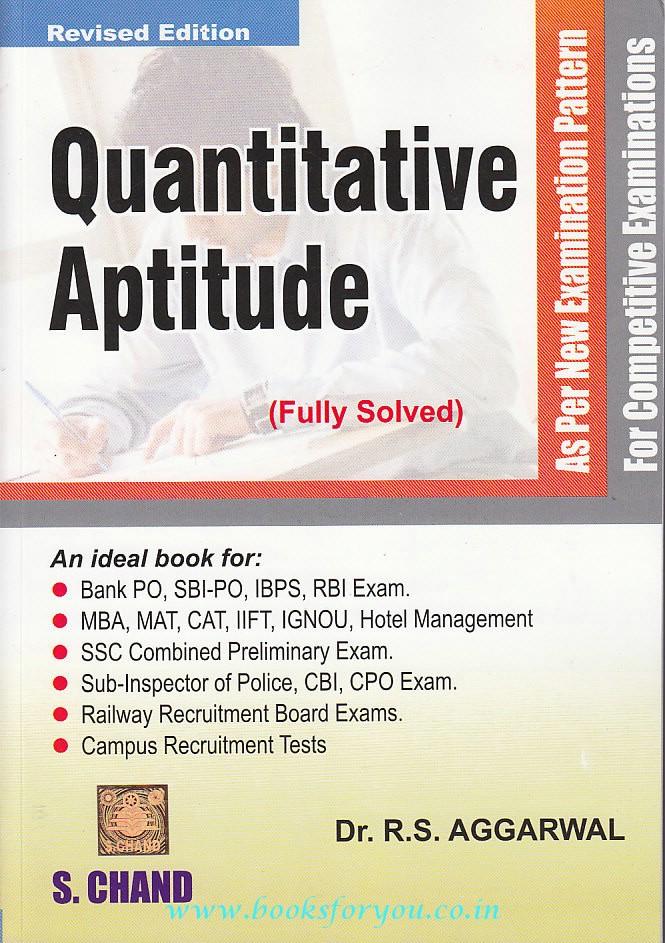 RS agarwal quantitative aptitude bookpdf - Scribd