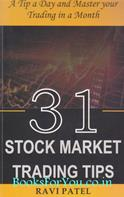 31 Stock Market Trading Tips